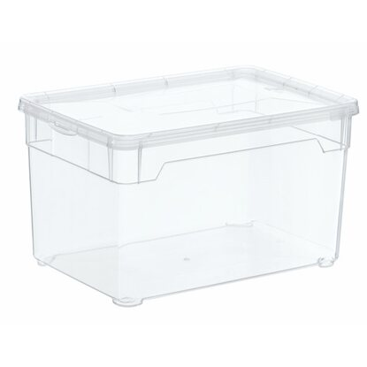Rotho Clear Box Multimedia 5 l Transparent