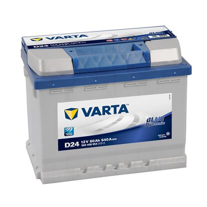 Retail-Batterie Blue Dynamic 60Ah D24