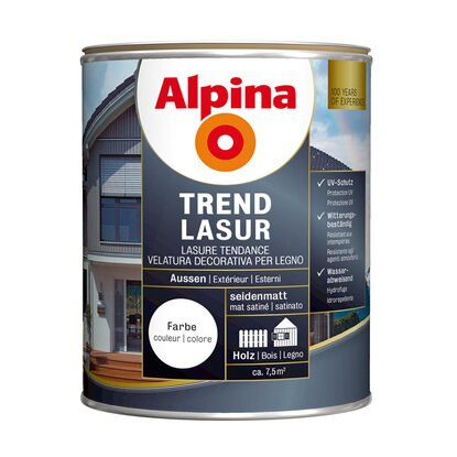 Alpina Trendlasur Metallic Lava 750 ml