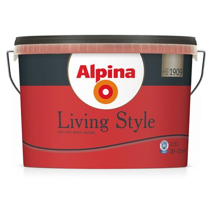 Alpina LivingStyle Beautiful Red 2,5 l