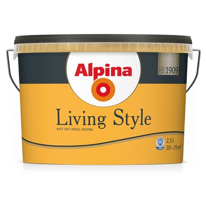 Alpina LivingStyle Funny Orange 2,5 l