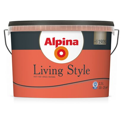 Alpina LivingStyle Passionate Red 2,5 l