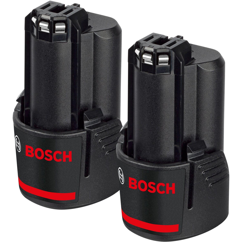 Bosch Professional  Akkupack GBA 12 V 2 x 2,5 Ah