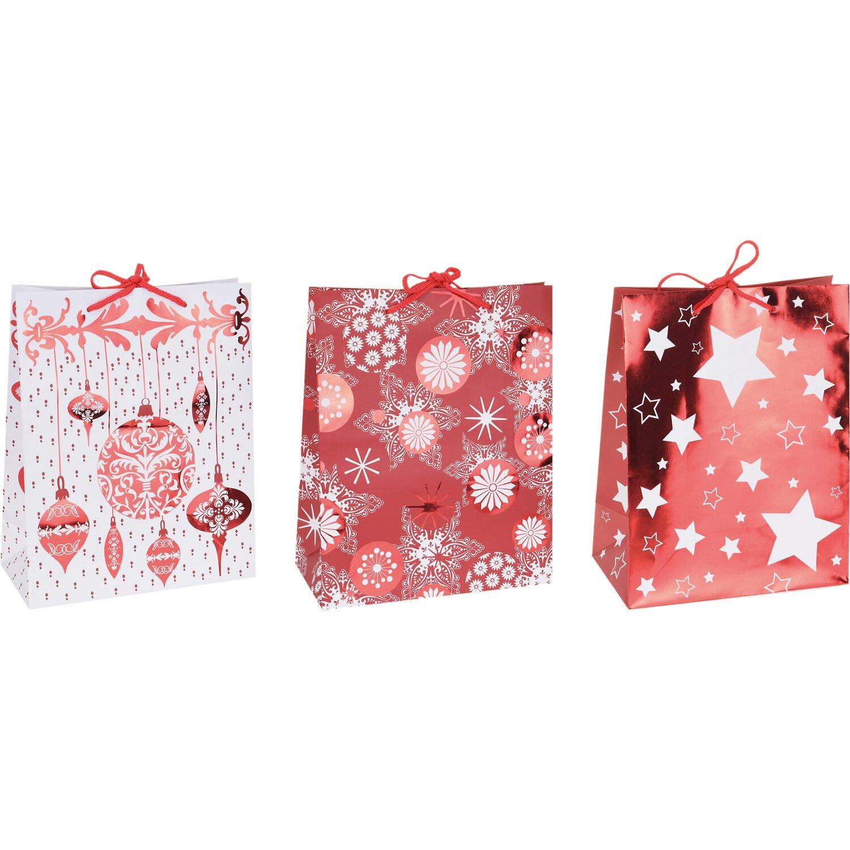 Geschenktasche weihnachten verschiedene varianten 23 cm x for Obi weihnachten