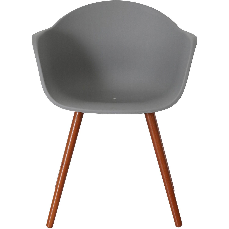 Gartenstühle holz grau  Greemotion Design-Gartenstuhl Derby Kunststoff Grau kaufen bei OBI