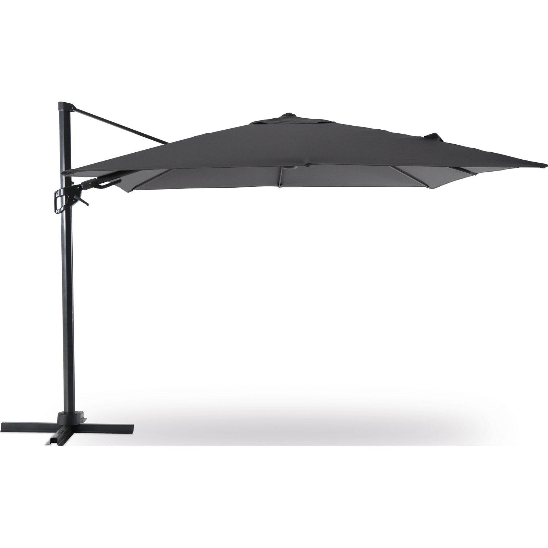 obi ampelschirm fairfield anthrazit 300 cm kaufen bei obi. Black Bedroom Furniture Sets. Home Design Ideas