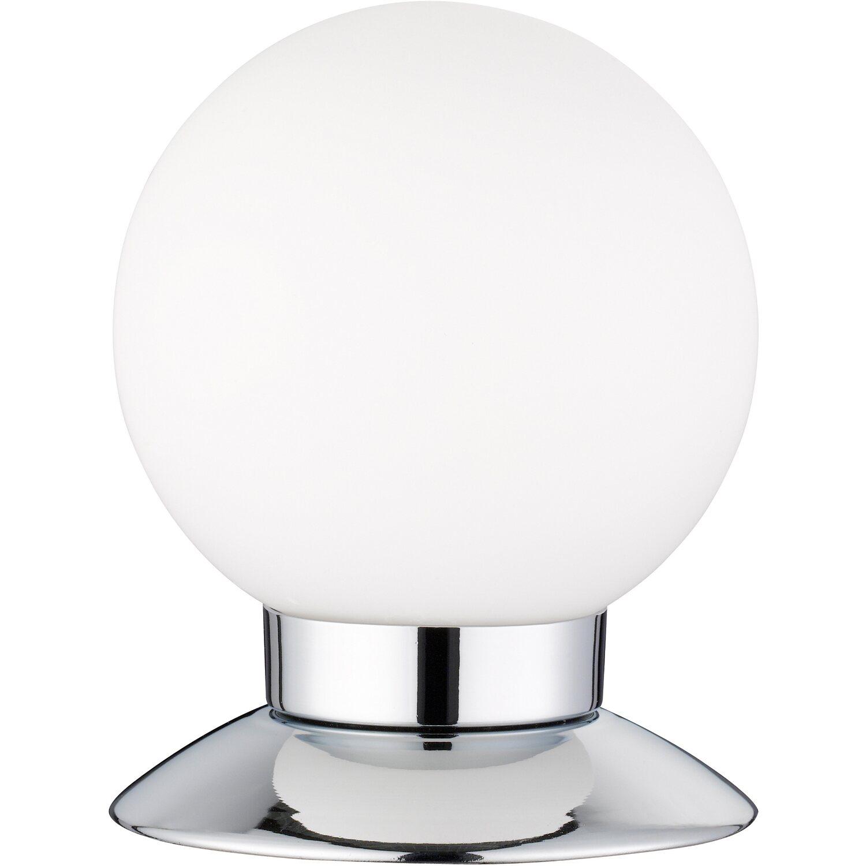 Trio LED-Tischleuchte Princess Chrom Ø 10 cm EEK: A+ | Lampen > Tischleuchten > Beistelltischlampen | Glas | Trio