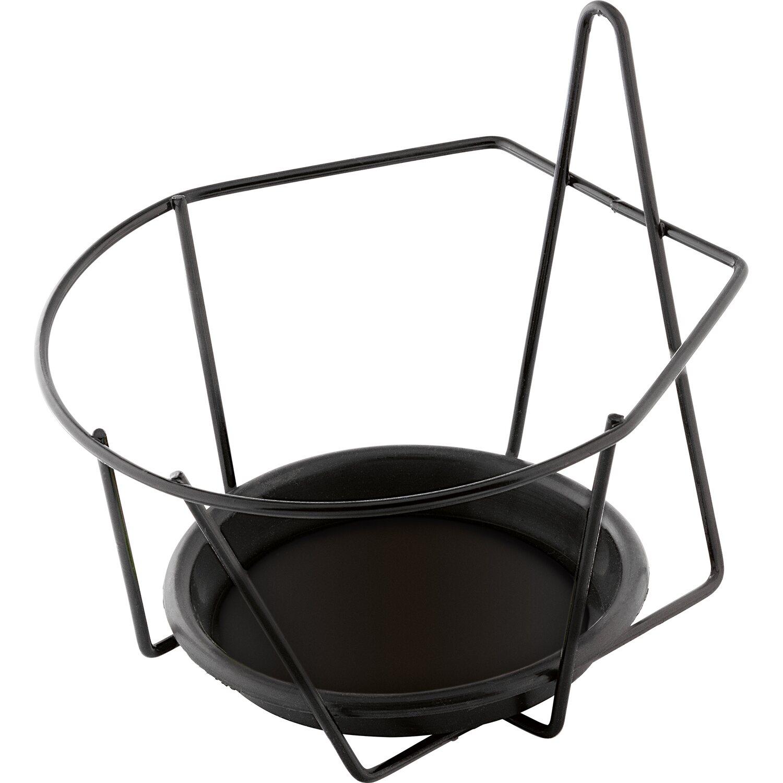 obi mauer topfhalter gr n 18 cm kaufen bei obi. Black Bedroom Furniture Sets. Home Design Ideas