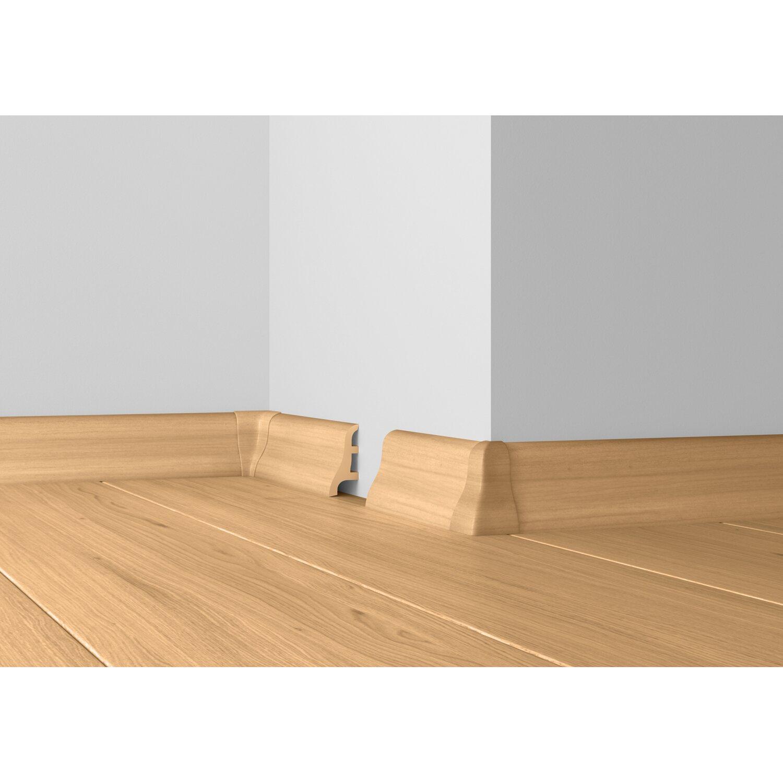 system 13 sockelleiste schwarz 50 mm x 22 mm l nge 2500 mm kaufen bei obi. Black Bedroom Furniture Sets. Home Design Ideas