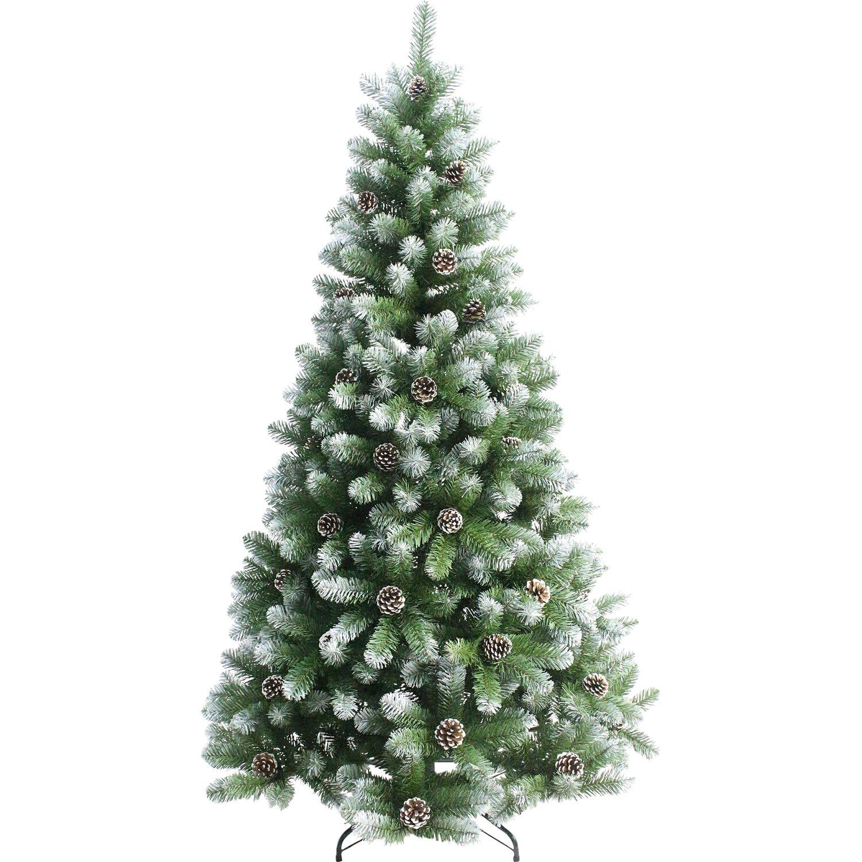 Künstlicher Weihnachtsbaum Mit Beleuchtung Kaufen.Künstlicher Weihnachtsbaum 150 Cm Gefrostet