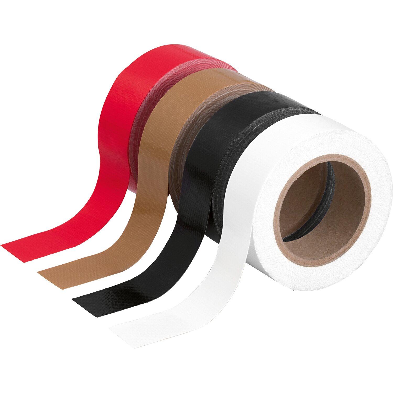 LUX Gewebeband-Set 4 x 5 m x 19 mm