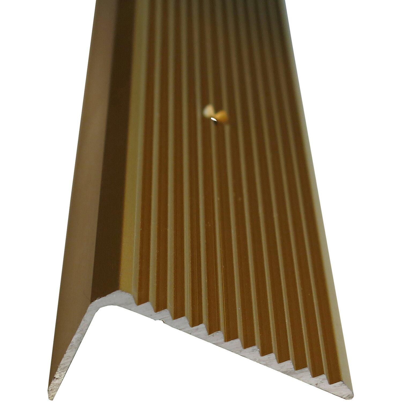 treppenwinkelprofil 45 mm x 20 mm messing 1000 mm kaufen bei obi. Black Bedroom Furniture Sets. Home Design Ideas