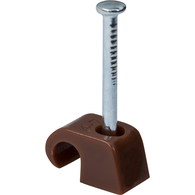 OBI Expressschellen Ø 4 mm - Ø 7 mm 15 Stück Braun