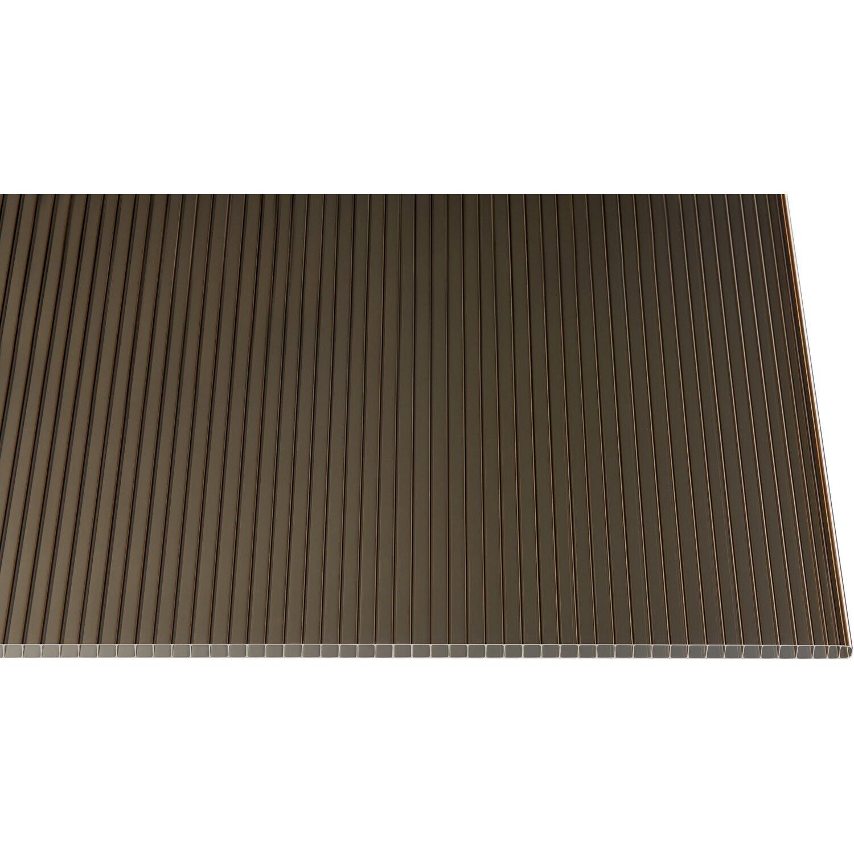 Hohlkammerplatte 10 Mm Bronze 200 Cm X 105 Cm Kaufen Bei Obi
