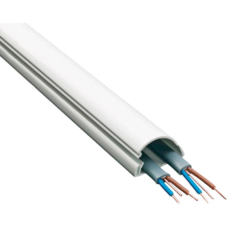 D Line Kabelkanal 30 Mm X 15 Mm Weiss 2 M Kaufen Bei Obi