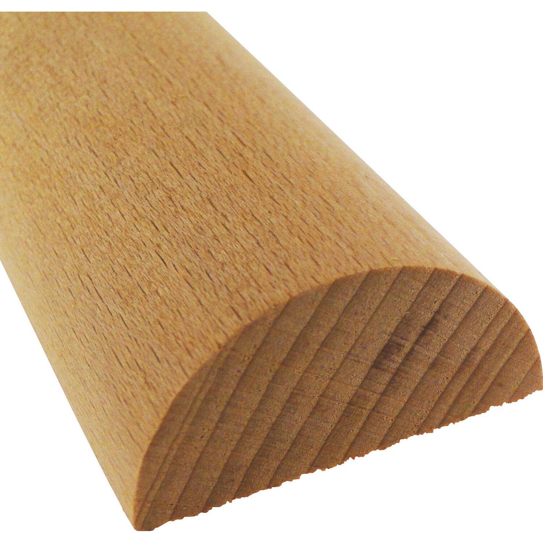 Halbrundstab Buche 20 Mm X 10 Mm Lange 1000 Mm Kaufen Bei Obi