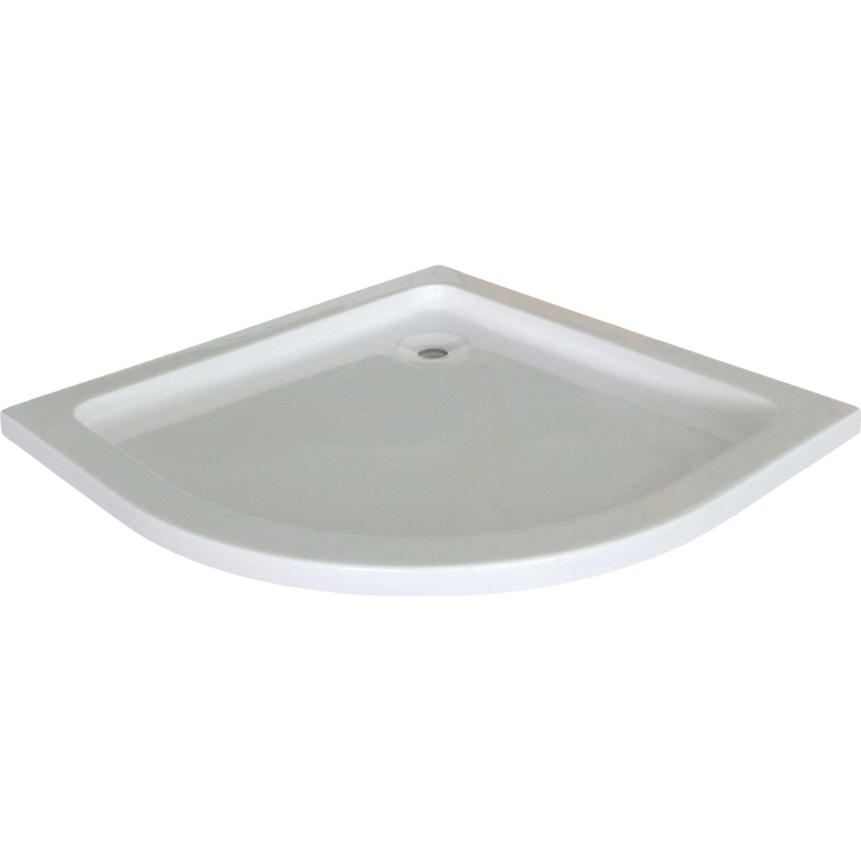 baliv Duschwanne DT-4702 Viertelkreis 90 cm x 90 cm | Bad > Duschen > Duschwannen | baliv