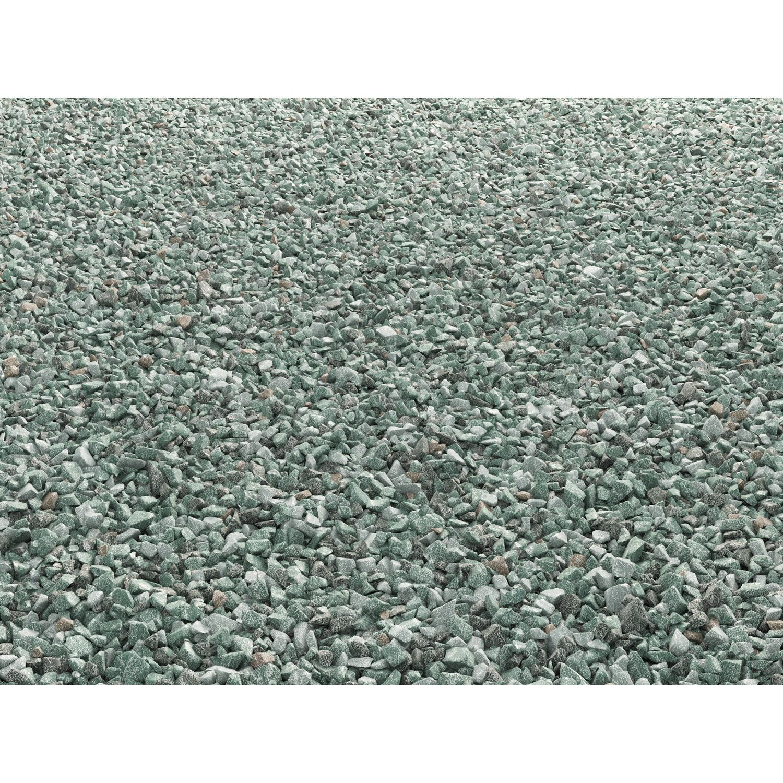 Ziersplitt arctic green gr n 8 mm 16 mm 15 kg sack for Obi zierkies