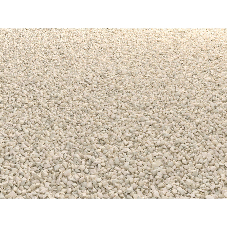 Ziersplitt vanilla 8 mm 11 mm 25 kg sack kaufen bei obi for Obi zierkies
