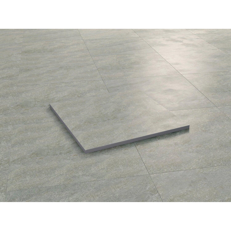 Terrassenplatte Feinsteinzeug Grau 60 Cm X 60 Cm 2 Stuck Kaufen Bei Obi