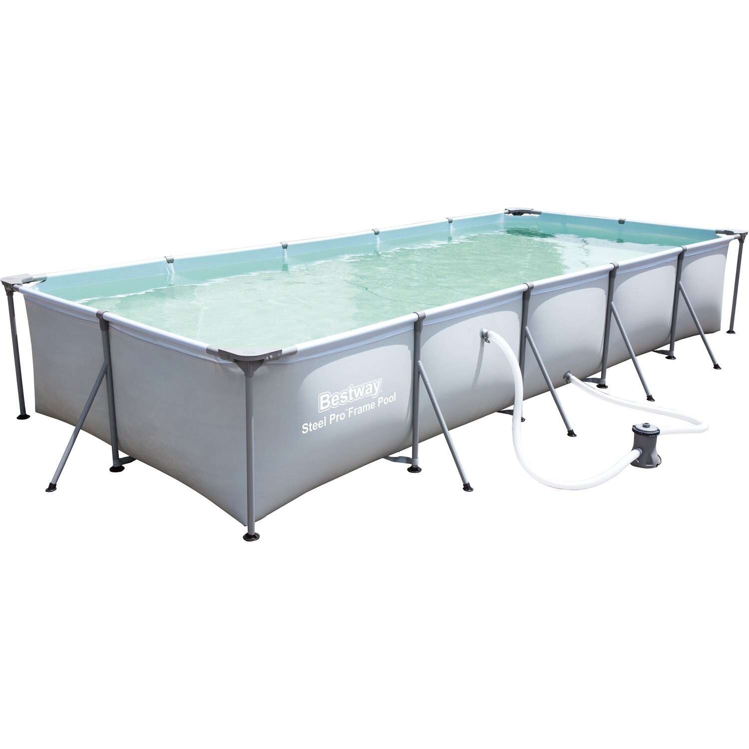 Bestway metallrahmenpool 457 cm x 211 cm x 81 cm kaufen for Bestway pool bei obi