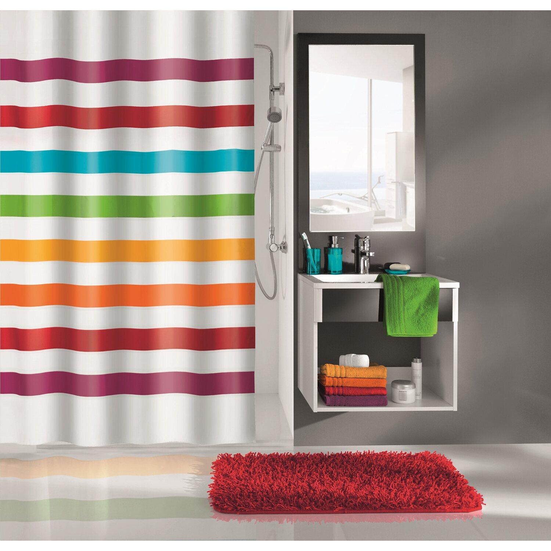 obi duschvorhang select multicolor 180 cm x 200 cm kaufen. Black Bedroom Furniture Sets. Home Design Ideas