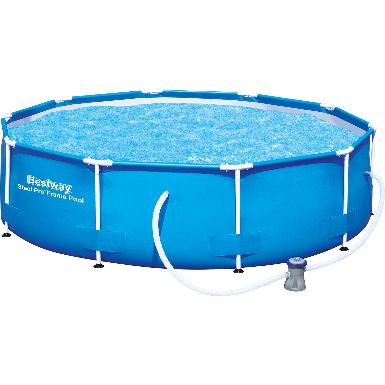 Bestway Stahlrahmen-Pool Ø 305 cm x 76 cm kaufen bei OBI