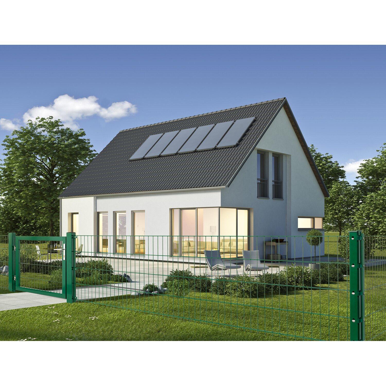 Doppelstabmattenzaun Grün 103 cm x 201 cm kaufen bei OBI
