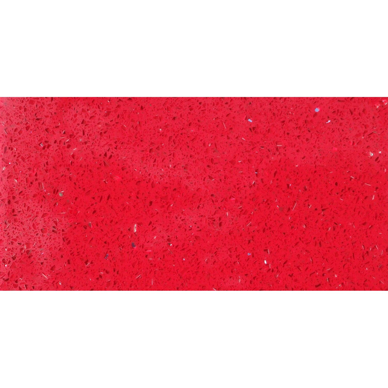 Sonstige Bodenfliese Quarzkomposit Rot 30 cm x 60 cm