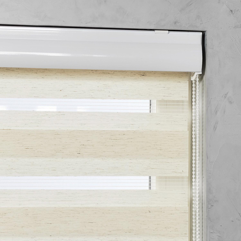 cocoon doppelrollo mit kassette tageslicht leinen 60 cm x 175 cm kaufen bei obi. Black Bedroom Furniture Sets. Home Design Ideas