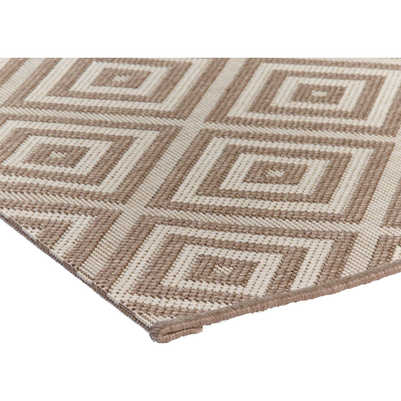 obi teppich tavira taupe creme 140 cm x 200 cm kaufen bei obi. Black Bedroom Furniture Sets. Home Design Ideas