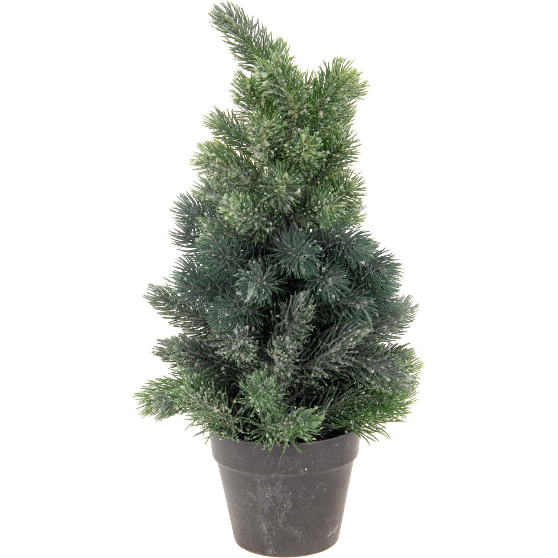 k nstlicher weihnachtsbaum im topf 38 cm 3fach sortiert kaufen bei obi. Black Bedroom Furniture Sets. Home Design Ideas