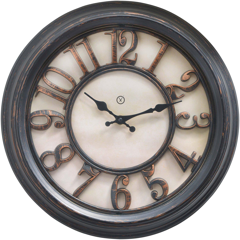Sompex Clocks Wanduhr Liverpool Beige-Schwarz
