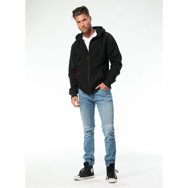 f2f93a953654 Herren Jacke Borg Fleece Schwarz Größe M kaufen bei OBI