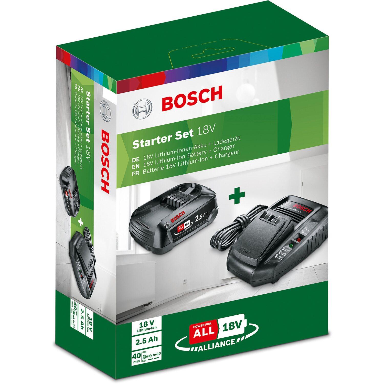 Bosch starter set  Akku Ladegerät 12v 1,5 Ah