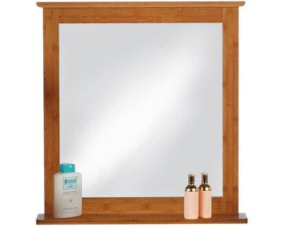 Badezimmerspiegel Ablage.Eisl Bambus Spiegel Mit Ablage Kaufen Bei Obi