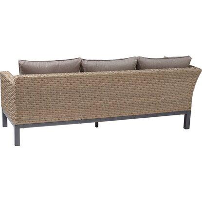 obi gartenm bel set brogan polyrattan ash 5 teilig inkl auflagen kaufen bei obi. Black Bedroom Furniture Sets. Home Design Ideas