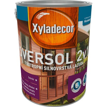 Xyladecor Oversol 2v1 sipo 5 l