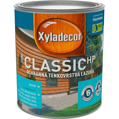 Xyladecor classic HP orech 0,75 l