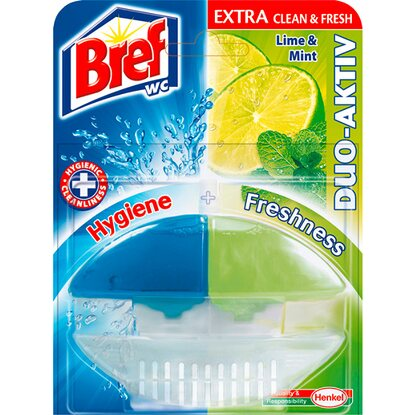 Bref WC blok Duo aktiv lime and mint 60 ml