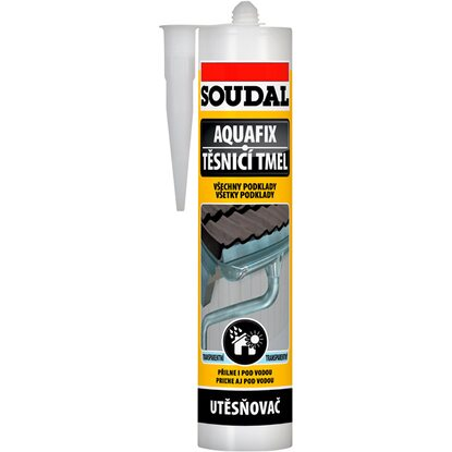 Soudal Aquafix 300ml transparentný
