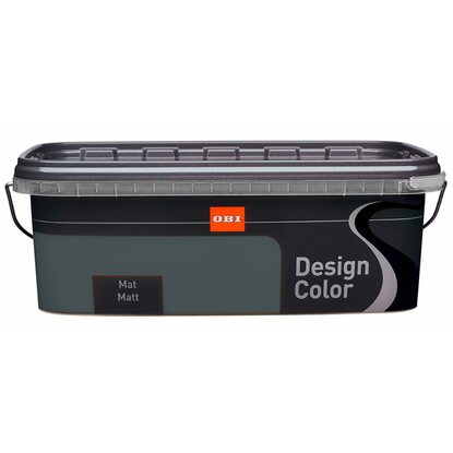 OBI Design Color mat Expresso 2,5 l
