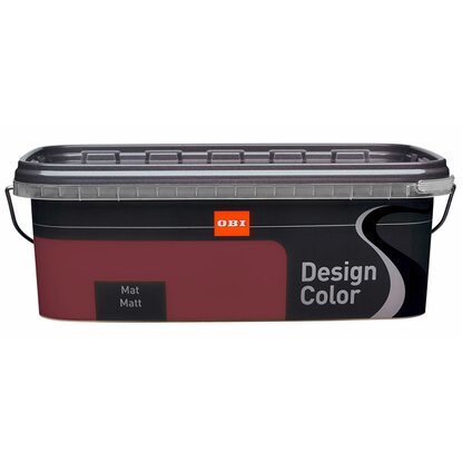 OBI Design Color mat Aubergine 2,5 l