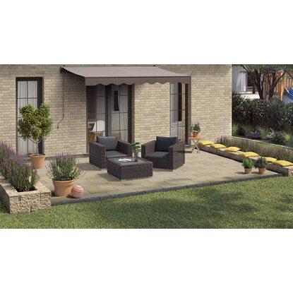 Terrassenplatte Sandstein Gold Braun 60 Cm X 30 Cm X 3 Cm Kaufen Bei Obi