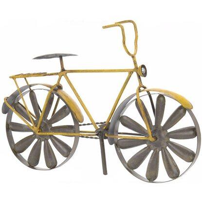 Deko metall windm hle fahrrad 109 cm kaufen bei obi for Deko metall