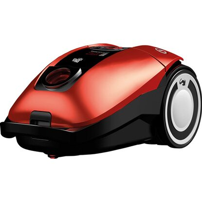 Dirt Devil Bodenstaubsauger Rebel 75HFC EEK: A 700 Watt Metal Red