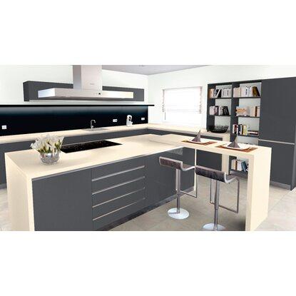 arbeitsplatte 60 cm x 3 9 cm buttercream a937 se max l nge 4 1 m kaufen bei obi. Black Bedroom Furniture Sets. Home Design Ideas