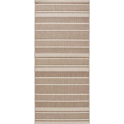 obi teppich toleda taupe creme gestreift 80 cm x 180 cm kaufen bei obi. Black Bedroom Furniture Sets. Home Design Ideas