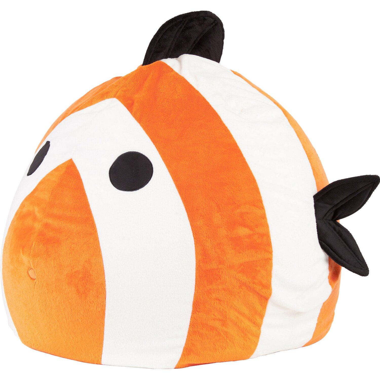 Sitting Point Sitzsack BeanBag Kidding Fisch 120 l Orange