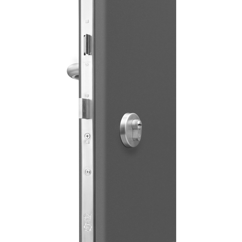 sicherheits haust r thermospace neapel rc2 110 x 210 cm anthrazit anschlag links kaufen bei obi. Black Bedroom Furniture Sets. Home Design Ideas